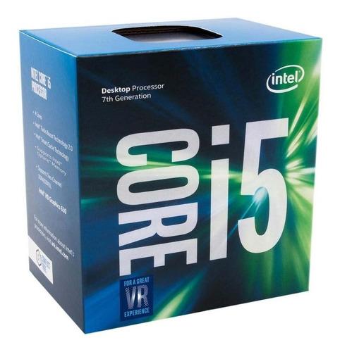 procesador intel core i5-7400 kaby lake lga 1151 - gpaelect.