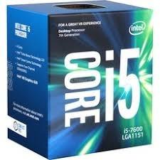 procesador intel core i5-7600, 3.5ghz, quad core