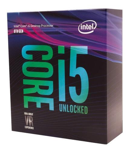 procesador intel core i5-8600k 3.6ghz lga1151 8a.gen