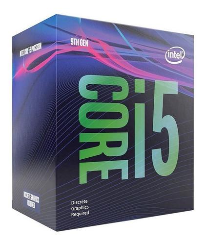 procesador intel core i5 9400f 6 núcleos 9na gen socket 1151