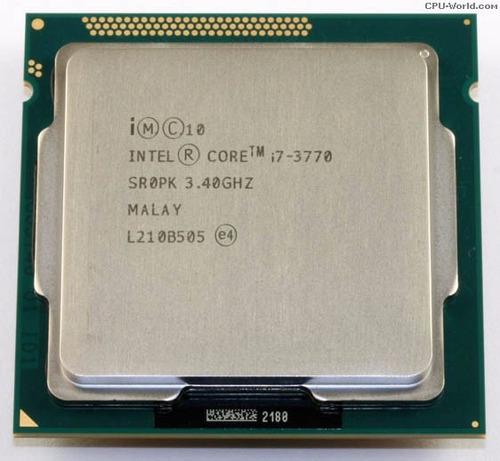 procesador intel core i7 3770 3.4 mhz hasta 3.9 ivy bridge