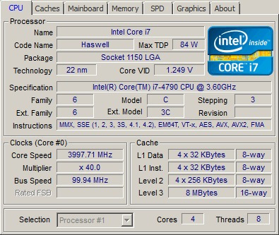 procesador intel core i7 4790 socket 1150