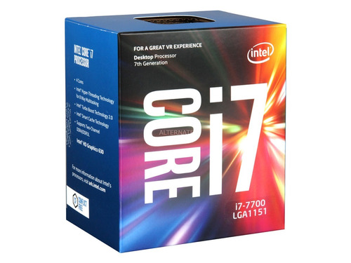 procesador intel core i7 7700 3.6ghz socket 1151 7a gen