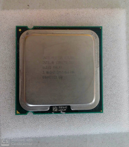 procesador intel core2duo (usado)