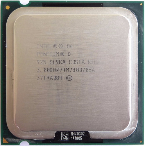 procesador intel dual core d 925 3.0ghz  oem + fan original