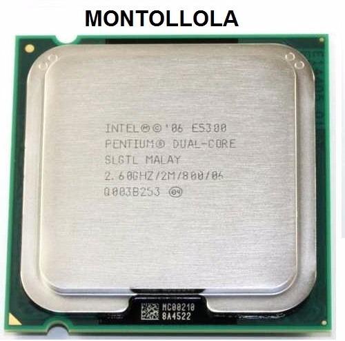 procesador intel (dual core) e5300 2.6gh/2mb/800 socket 775