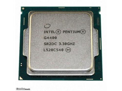 procesador intel dual core g4400 3.3ghz socket 1151 100% new