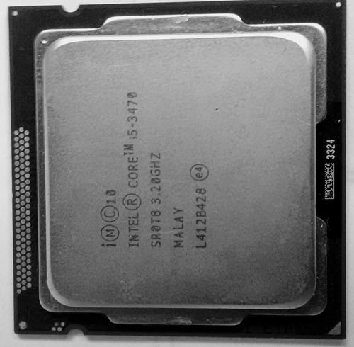 procesador intel i5 3470 3.2ghz