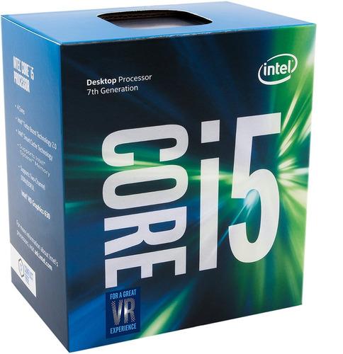 procesador intel i5-7400 7th gen 3.0ghz lga 1151 6m