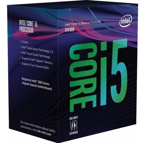 procesador intel i5 9400f 6-core 4.1ghz s1151 gamer pc
