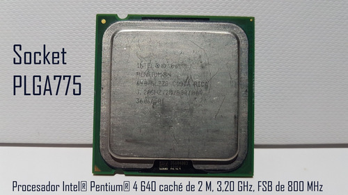 procesador intel® pentium® 4 640 plga775