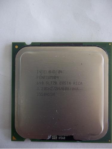 procesador intel pentium 4 de 3.20 ghz socket lga 775