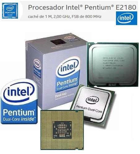 procesador intel® pentium® e2180 socket 775 2.00hz