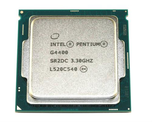 procesador intel pentium g4400 3.3ghz cache 3mb lga 1151