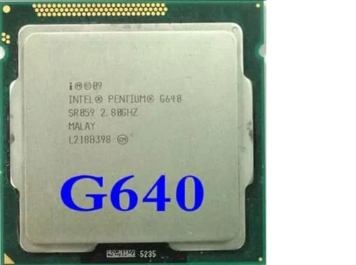 procesador intel pentium g640 2.80 ghz 3mb socket 1155