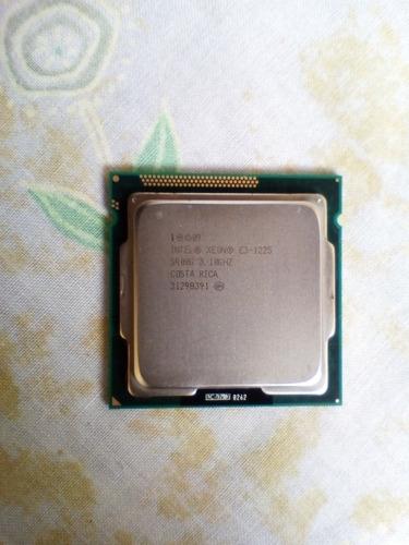 procesador intel xeon e3 1225 socket 1155 sin fan cooler