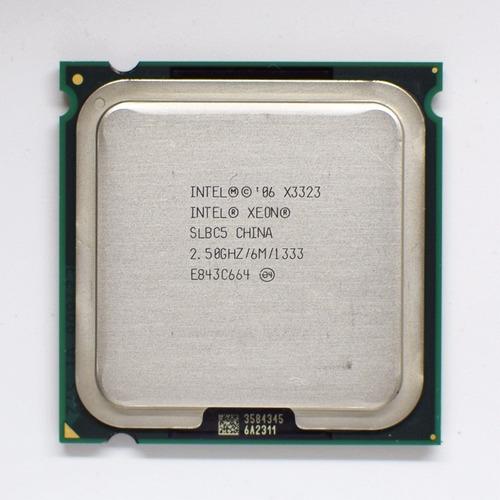procesador intel xeon x3323 2.50ghz quad core.