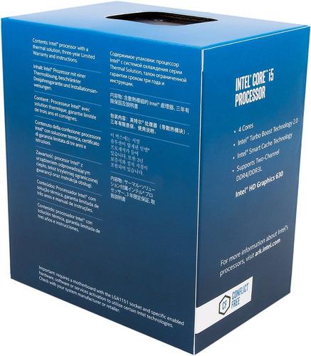 procesador intel®corei5-7400 (bx80677i57400)