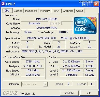 procesador laptop intel i5 560m