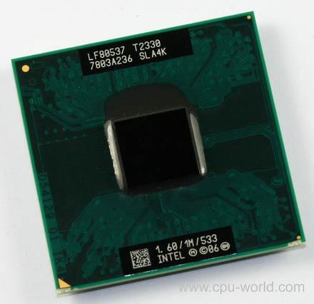 procesador laptop intel pentium dual core t2330