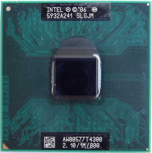 procesador mobil intel pentium processor t4300