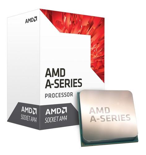 procesador pc amd apu a6 9500 3.8ghz am4 radeon r5 oficial