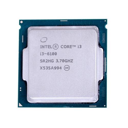 procesador pc intel core i3-6100 lga1151 6ta gen poco uso