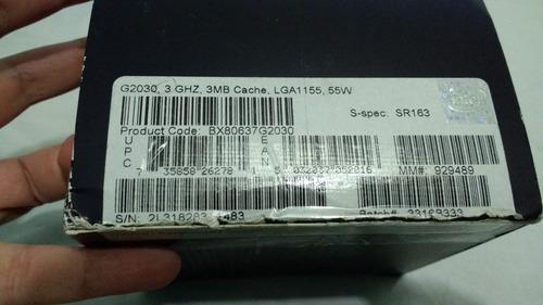 procesador pentium dual g2030 socket 1155 con disipador