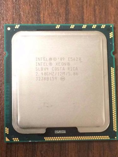 procesador xeon e5620 quad core 2.4 ghz 12mb para servidores