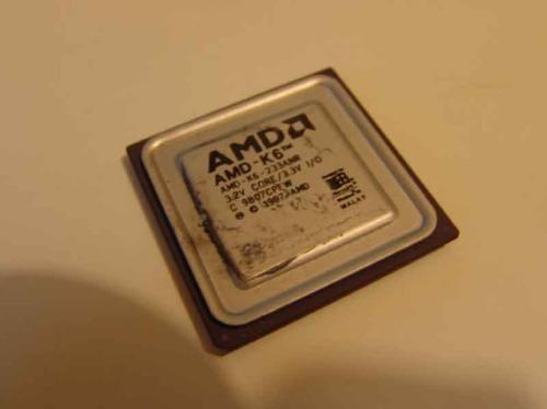 procesadores amd k6