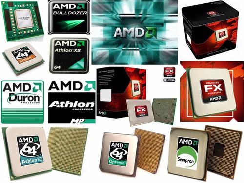 procesadores amd sempron duron athlon