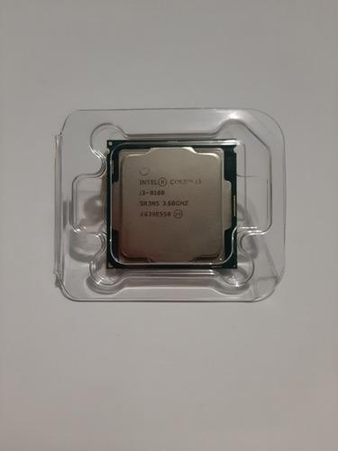 procesdor intel core i3-8100 bx80684i38100 4 núcleos 64 gb