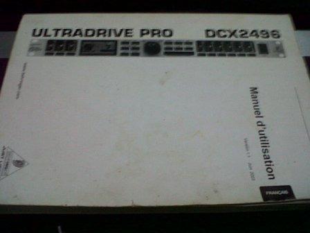proceso drivarack beringuer ultradriverpro dcx 2496