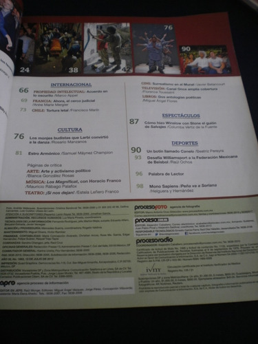 proceso - el desafío #1863 julio 2012