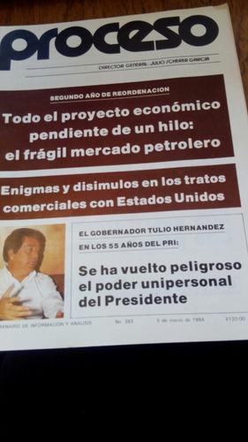 proceso - el gobernador tulio hernández en los 55 años pri