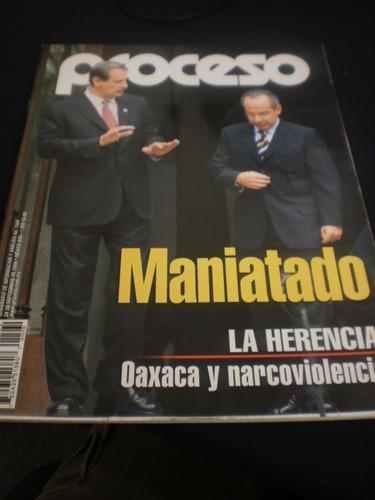 proceso - la herencia oaxaca y narcoviolencia #1560 año 2006