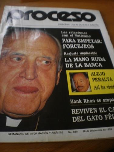 proceso - las relaciones con el vaticano