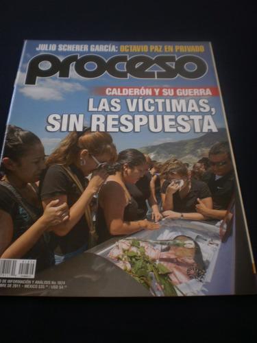 proceso las víctimas, sin respuesta #1824 año 2011