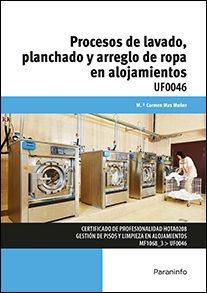 procesos de lavado planchado y arreglo de ropa en alojamient