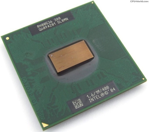 processador 1.60ghz intel celeron m380 1m 400mhz sl8mn