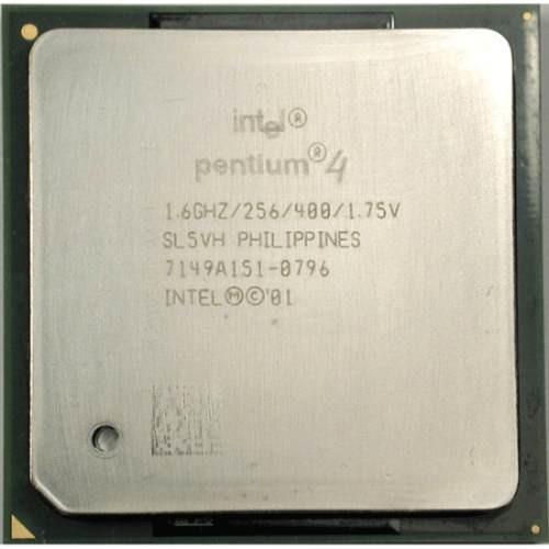 processador 1.60ghz  p4 intel 400 256v ppga478b