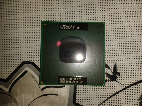 processador 2.00 ghz pentium 64 bits modelo lf80537 550