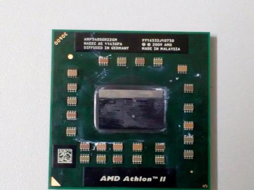 processador amd athlon ii dual core 2.2 ghz - notebook