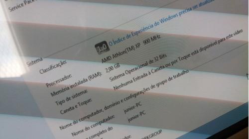 processador amd athon xp-900mhz, + 1,5gb de ram ddr 1