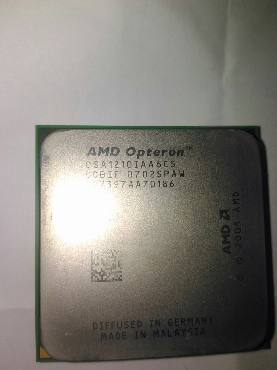NEW DRIVER: AMD OPTERON 1210