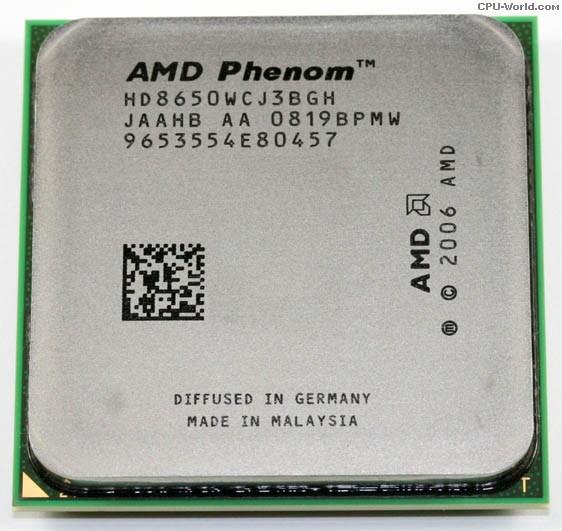 AMD PHENOMTM 8650 TRIPLE-CORE PROCESSOR WINDOWS 7 64 DRIVER