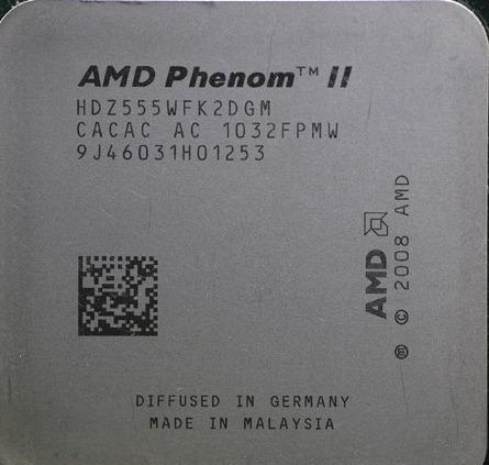 Processador Amd Phenom Ii X2 555 Hdz555wfk2dgm Socket Am3 R 119 90 Em Mercado Livre