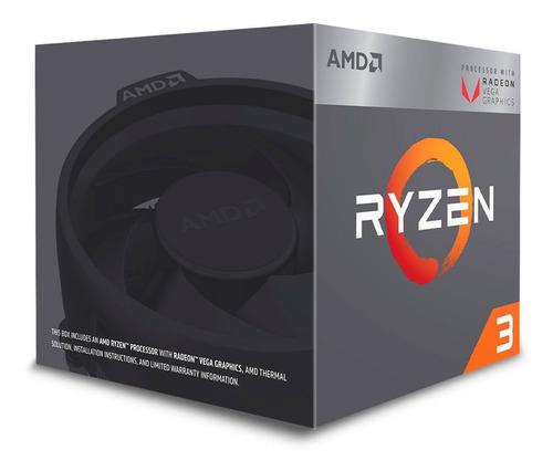 processador amd ryzen 3 2200g 3.5ghz 6mb am4 yd2200c5fbbox