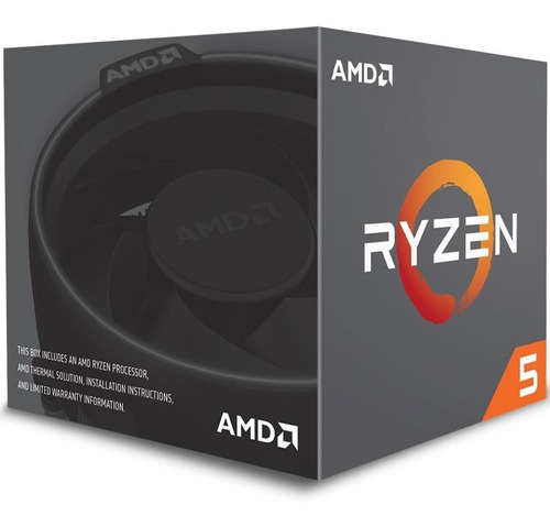 processador amd ryzen 5 1600 com cooler wraith spire cache 19mb 3.2ghz (3.6ghz max turbo) am4