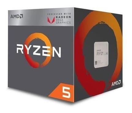 processador amd ryzen 5 2400 6mb 3.6 - 3.9ghz am4 nf-e+garan